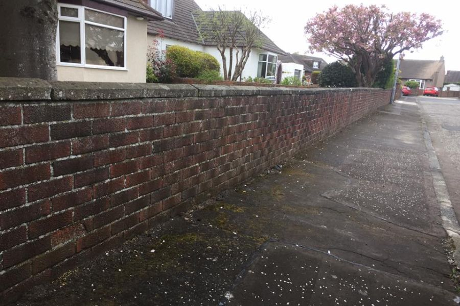 Brick Cleaning Prestwick, South Ayrshire / Prestwick Brick