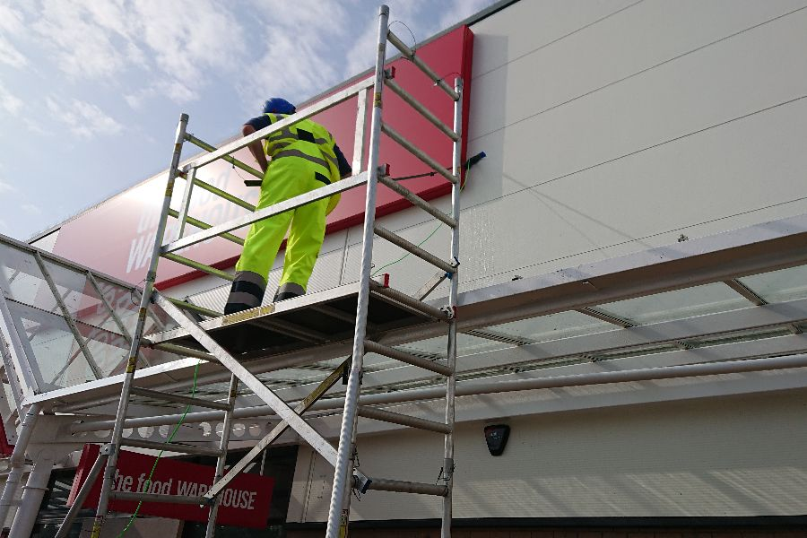 Commercial Cladding Cleaners Prestwick, South Ayrshire