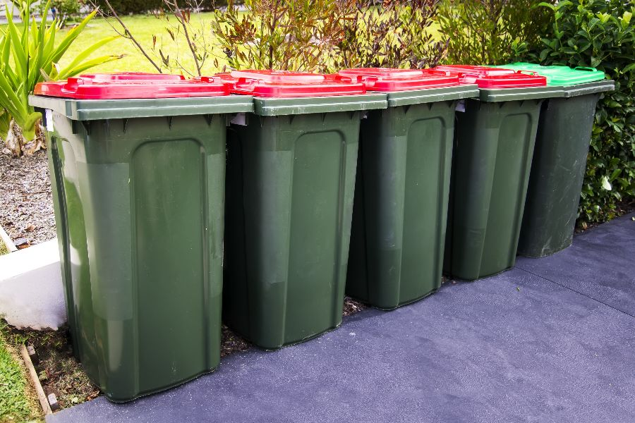 Domestic Wheelie Bin Cleaning in Prestwick, South Ayrshire