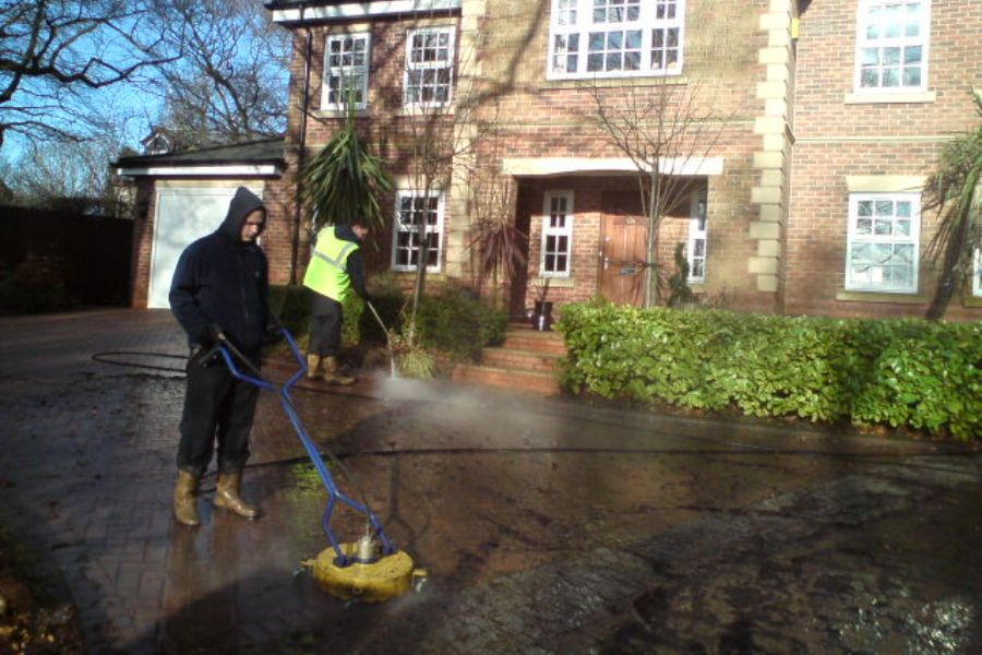 Pressure Washing in Prestwick, South Ayrshire