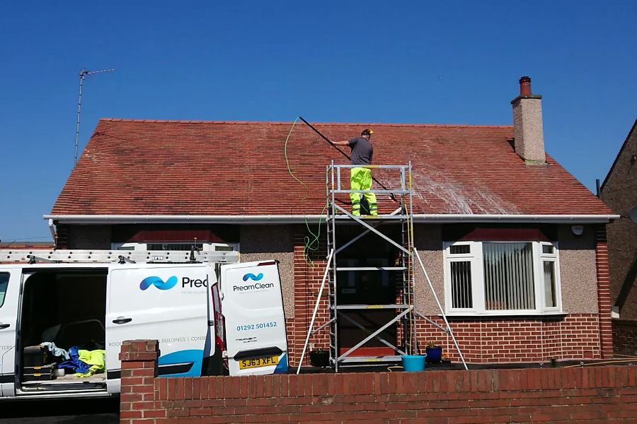Roof Cleaners Prestwick, South Ayrshire