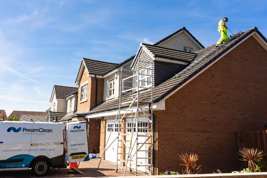 Roof Cleaning Prestwick, South Ayrshire